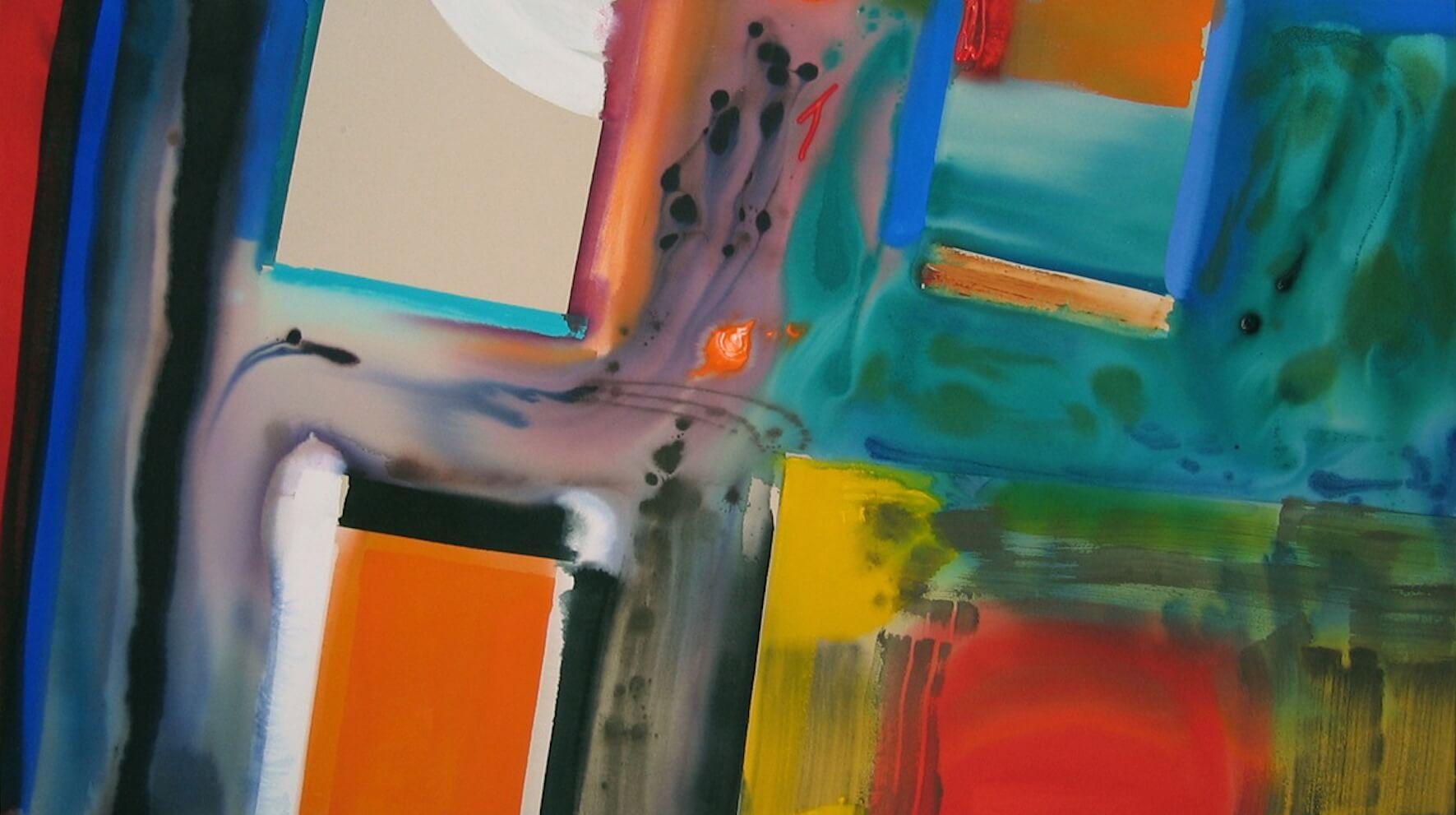 Patrick Jones, No Pasaran, 2010, 60 x 90 inches, acrylic on canvas (courtesy of