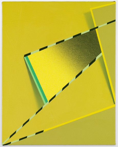 Tomma Abts, Feke, 2013, acrylic and oil on canvas, 18 7/8 x 15 inches (courtesy