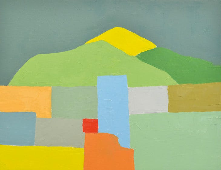 Etel Adnan, Untitled, 2012 (Private collection. Courtesy Sfeir-Semley Gallery, Hamburg/Beirut; © Etel Adnan)