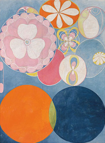 Hilma af Klint, The Ten Biggest, No 2, 1907, oil and tempera on paper, 328 x 240