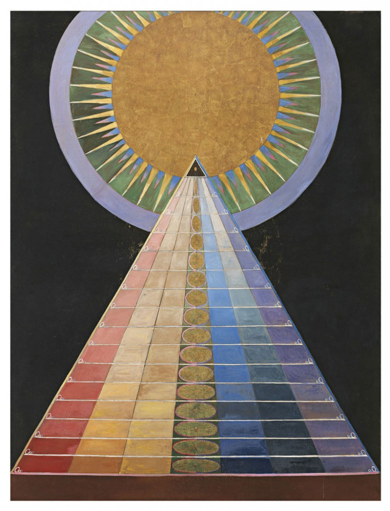 Hilma af Klint, Group X, No. 1. Altarpiece (courtesy of Stiftelsen Hilma af Klin