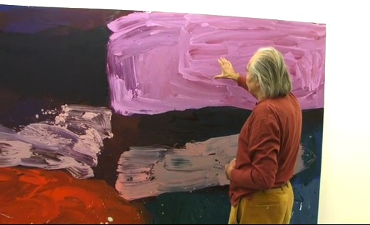 Alan Gouk discusses his paintings at Poussin Gallery London