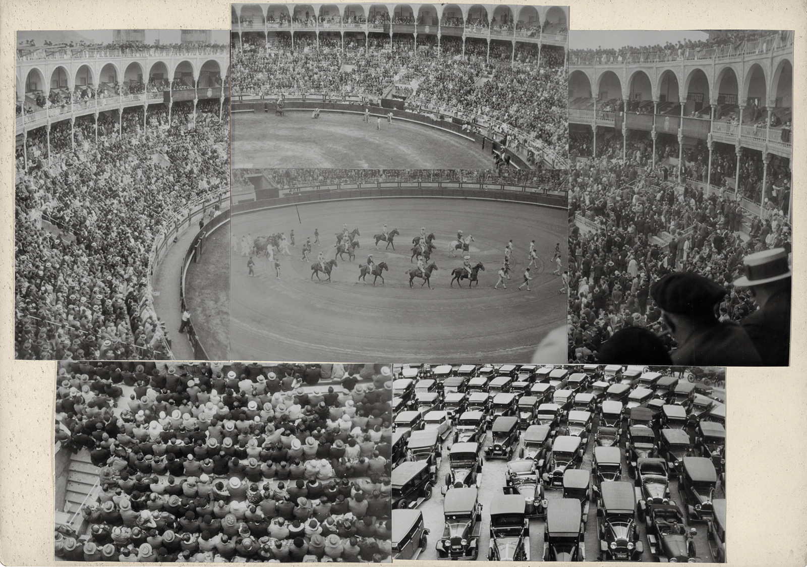 Josef Albers, Bullfight, San Sebastian, 1929 (Museum of Modern Art, New York/Jo Carole, Ronald S. Lauder, and Jon L. Stryker)