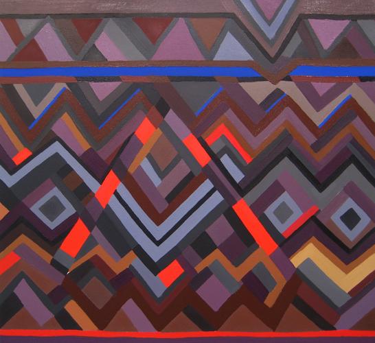 Kimberly Trowbridge, Alexandria, 24 x 26 inches, oil on canvas, 2011 (courtesy o