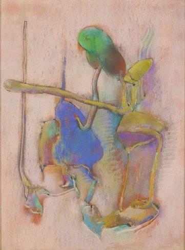 John Altoon, Untitled, 1964, from the Hyperion Series (© 2014 Estate of John Alt