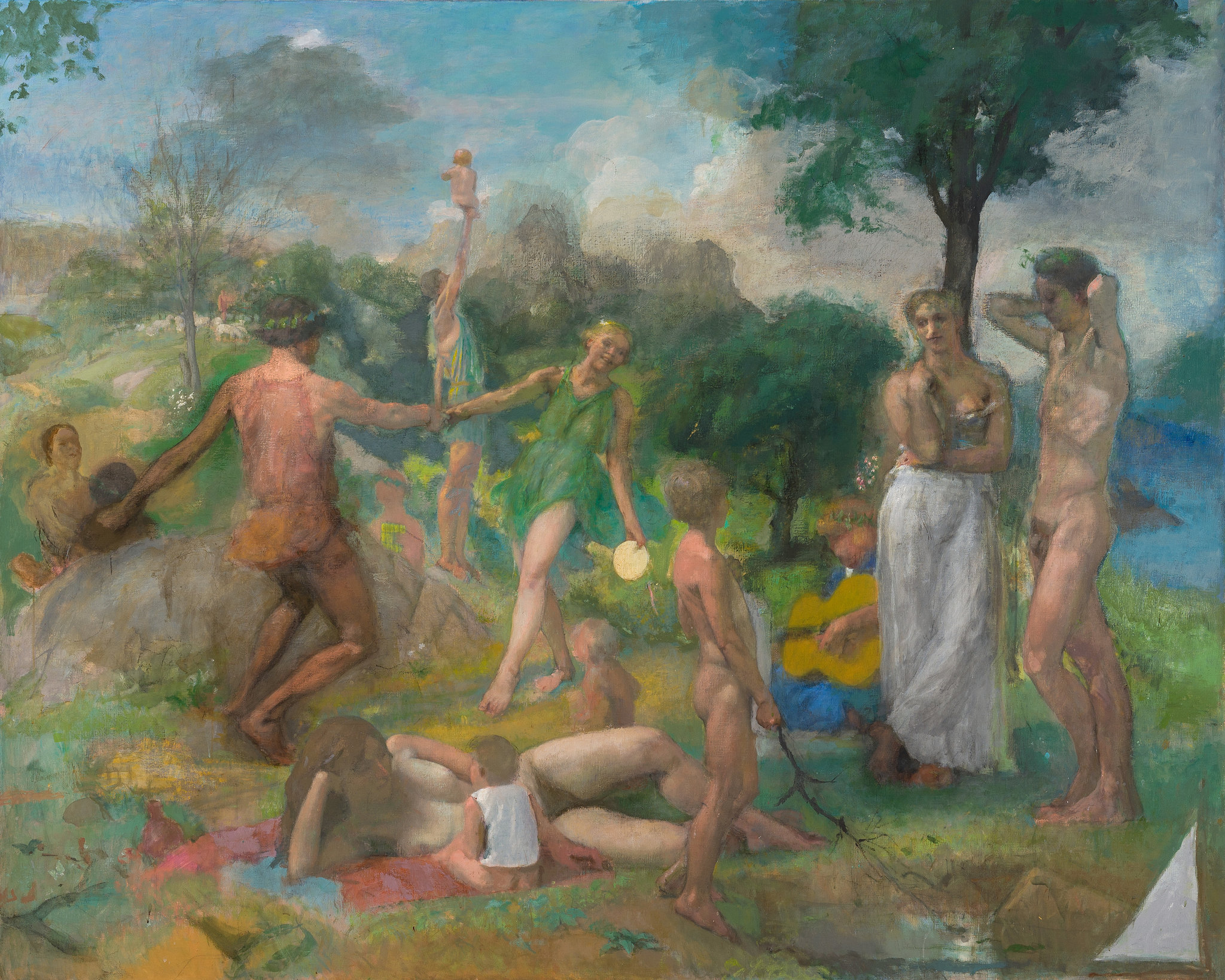Lennart Anderson, Idyll III, 1979-2011 (courtesy of the Estate of Lennart Anders