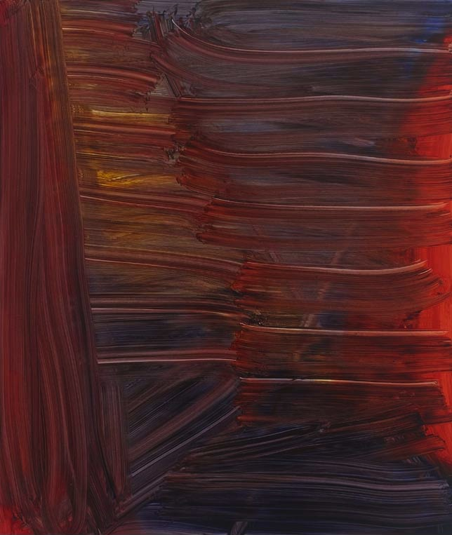 Andrea Belag, Stix & Stoned, 2012, 45 x 38 inches, oil on linen