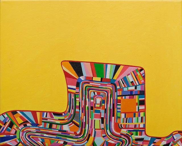 Andrew Masullo, 5234, oil on canvas, 16 x 20 inches (courtesy Zevitas Gallery)