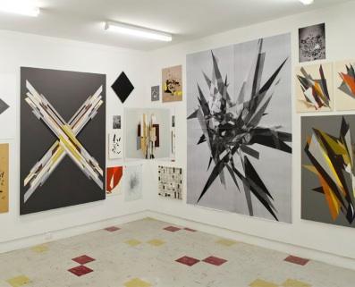 Justin Andrews, In Darkness Born (installation view TCB Art Inc Australia) 2 wal
