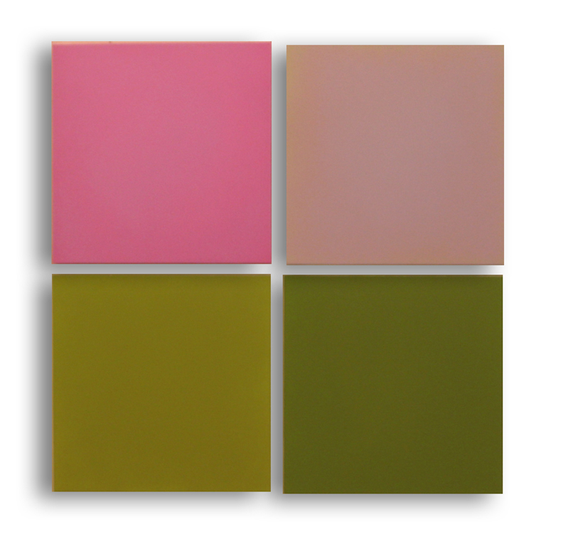 Anne Appleby, Faded Sweet Pea, 2008 oil and wax on panel, 33 x 33 inches (courte