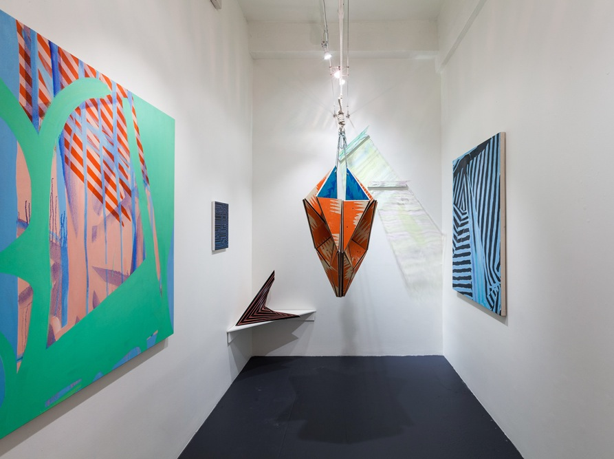 Installation View: Ramshackle Kaleidoscope at the ArtBridge Drawing Room, New Yo