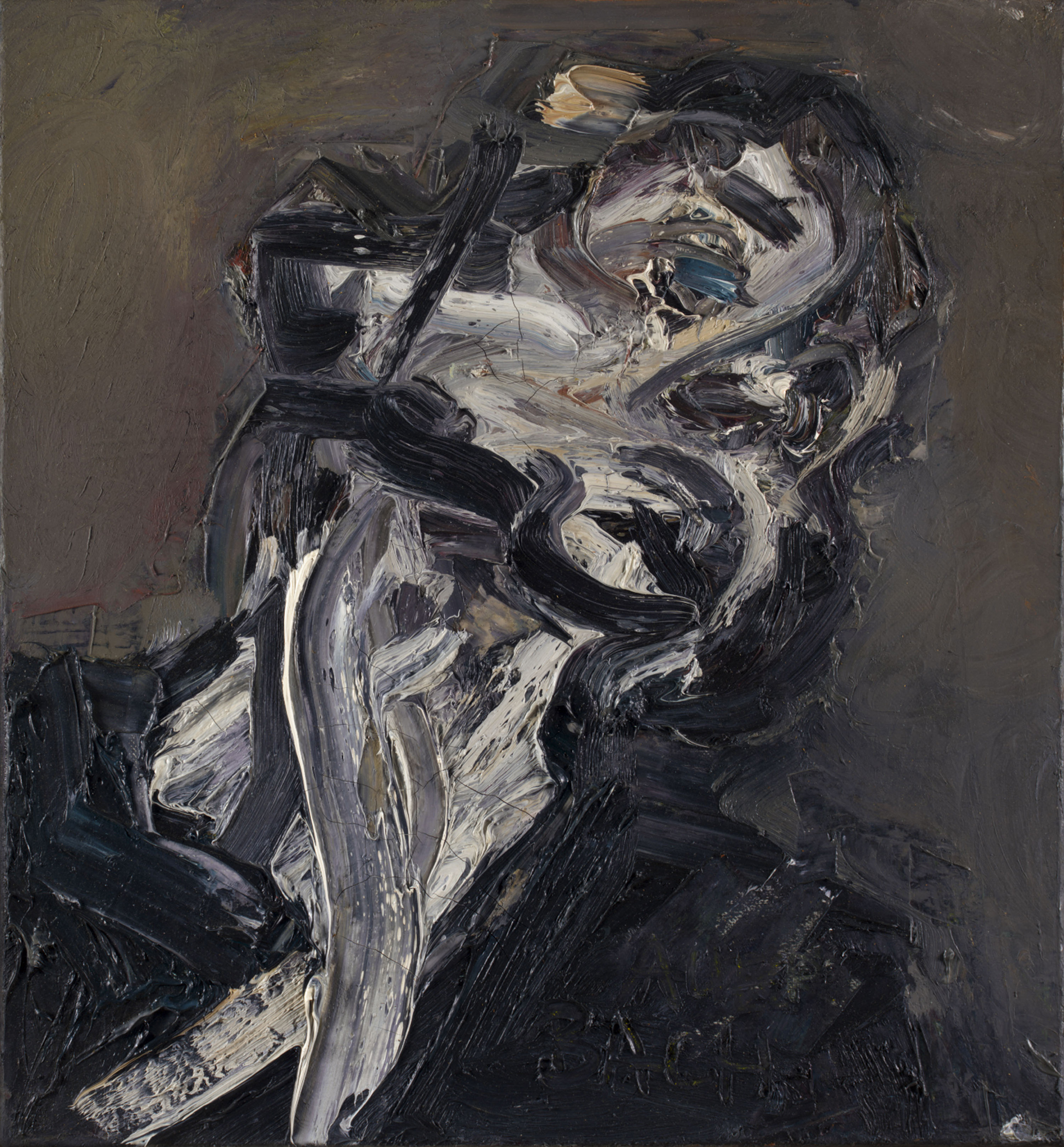 Frank Auerbach, Head of J.Y.M II, 1984-85 (Private collection, © Frank Auerbach)