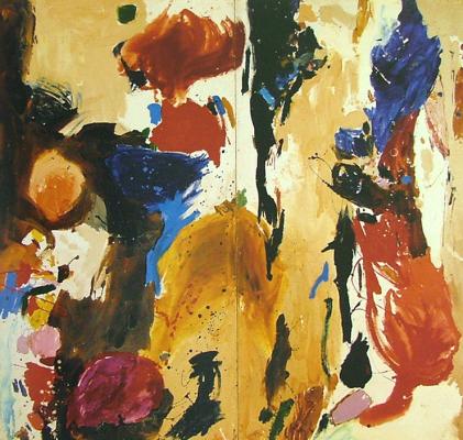 Gillian Ayres, Cumuli, 1959 (courtesy of the artist and Alan Cristea Gallery)