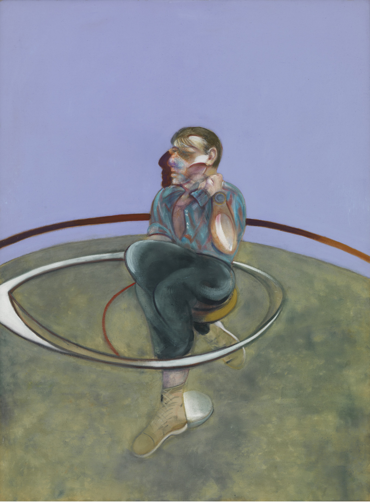 Francis Bacon, Self-Portrait, 1978, oil on canvas, 78 x 58 inches (Private Colle