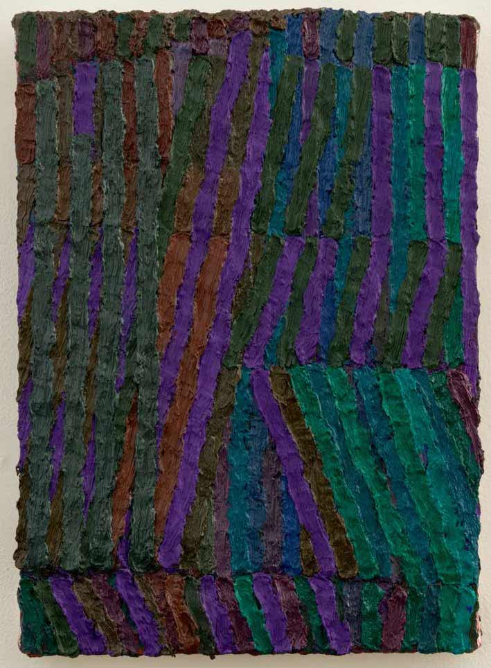 Brett Baker, Night Studio, 2013-2015, 14 x 10 inches, oil on canvas (courtesy of