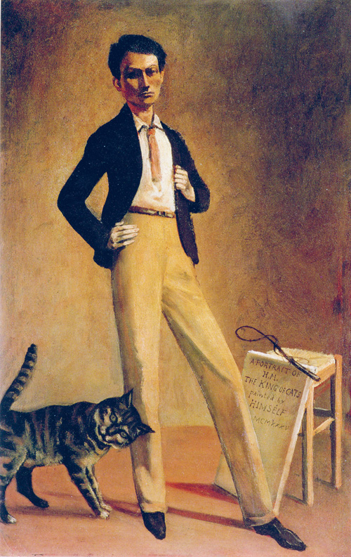 Balthus, Le roi des chats, 1935, oil on canvas, 71 x 48 cm (Private collection,