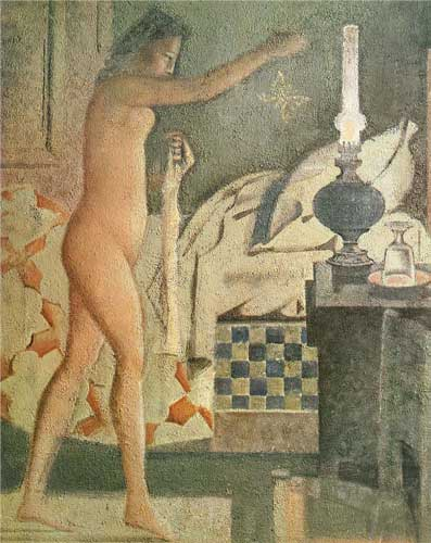 Balthus, The Moth, 1960, 162 x 130 cm (Musée National d'Art Moderne, Centre Geor