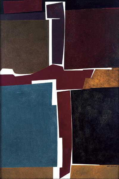 Will Barnet, Singular Image, 1959 All rights reserved, Estate of Will Barnet/Lic