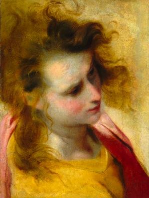 Federico Barocci, Head study for Saint John the Evangelist © Image courtesy of t