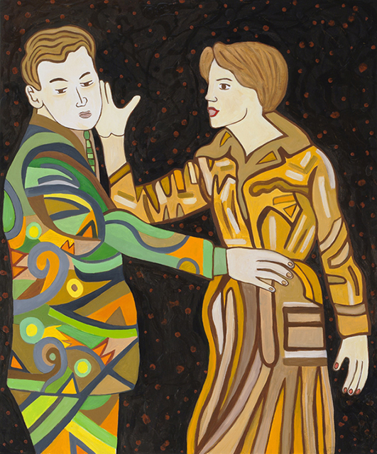 Susan Bee, The Slap, 2012 (courtesy of the artist)