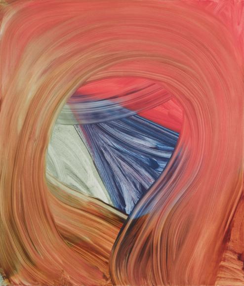 Andrea Belag, Close, 2014, oil on linen, 56 x 48 inches (courtesy of DCKT Contem