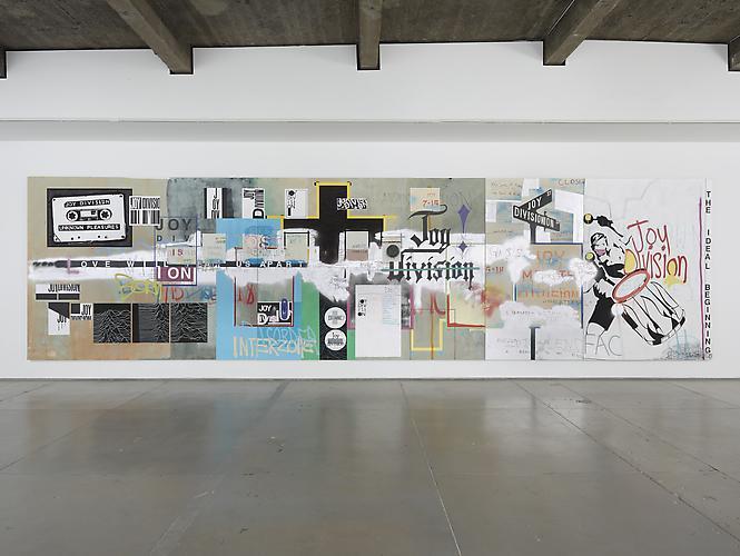 Michael Bevilacqua, An Ideal For Living, 2012, Acrylic, spray paint & molotow pe