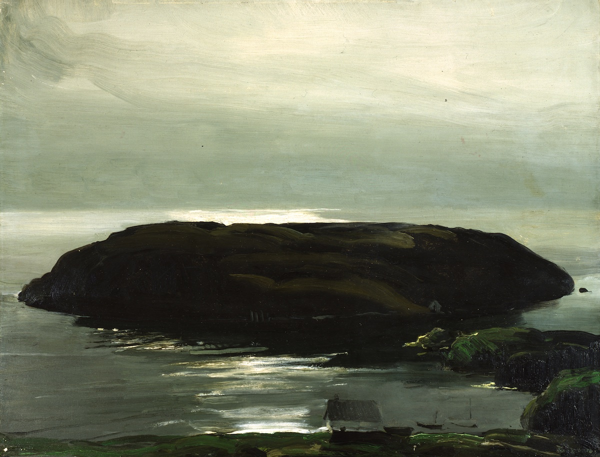 George Bellows, An Island in the Sea, 1911, oil on canvas, 34 x 44 inches (Colum
