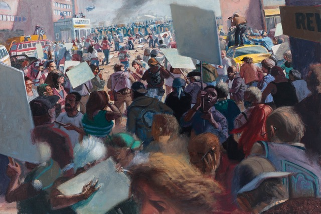 Robert Birmelin, The Uprising, 2012, 24 × 36 inches (courtesy of the artist)