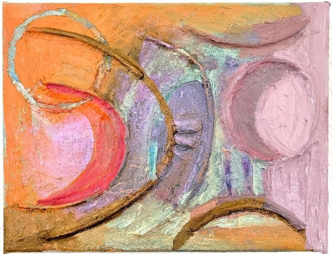Ewelina Bochenska, Worlds Within Worlds, 11.5 x 9 inches, oil on canvas (courtesy of The Fortnight Institute)