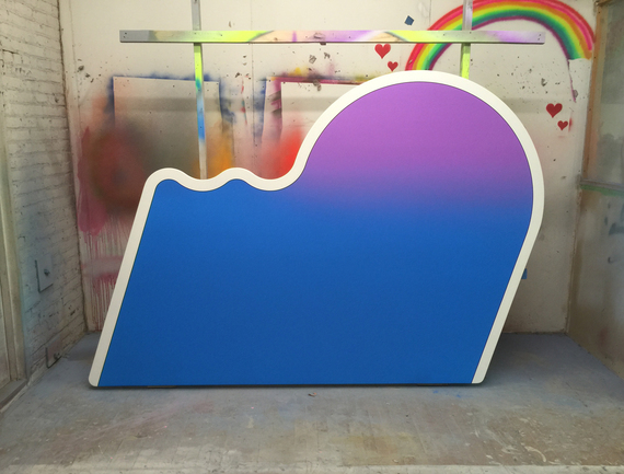 Greg Bogin, Sunny disposition (better luck next time), 2015, synthetic paint and