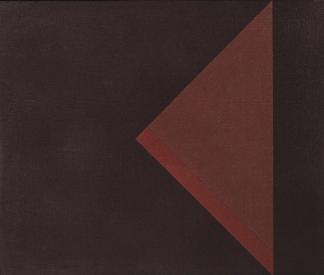Arturo Bonfanti:, K510., 1972, Oil on canvas, 90 x 108 cm (courtesy Austin Desmo
