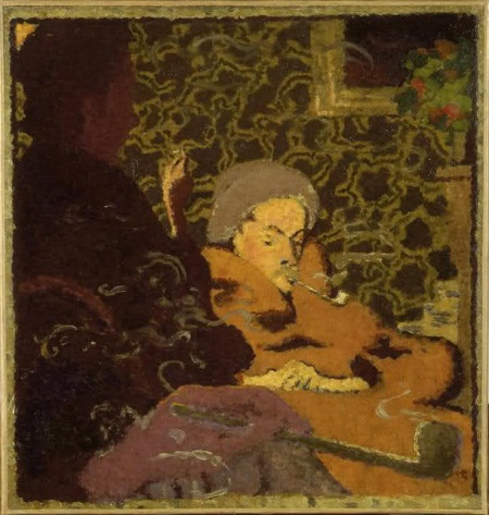 Pierre Bonnard, Intimacy, 1891 (courtesy Phillips Collection)
