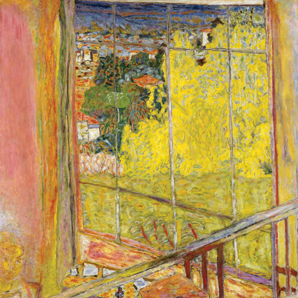 Pierre Bonnard, L'Atelier au mimosa, 1939–46 (Musée national d'Art Moderne, Pari