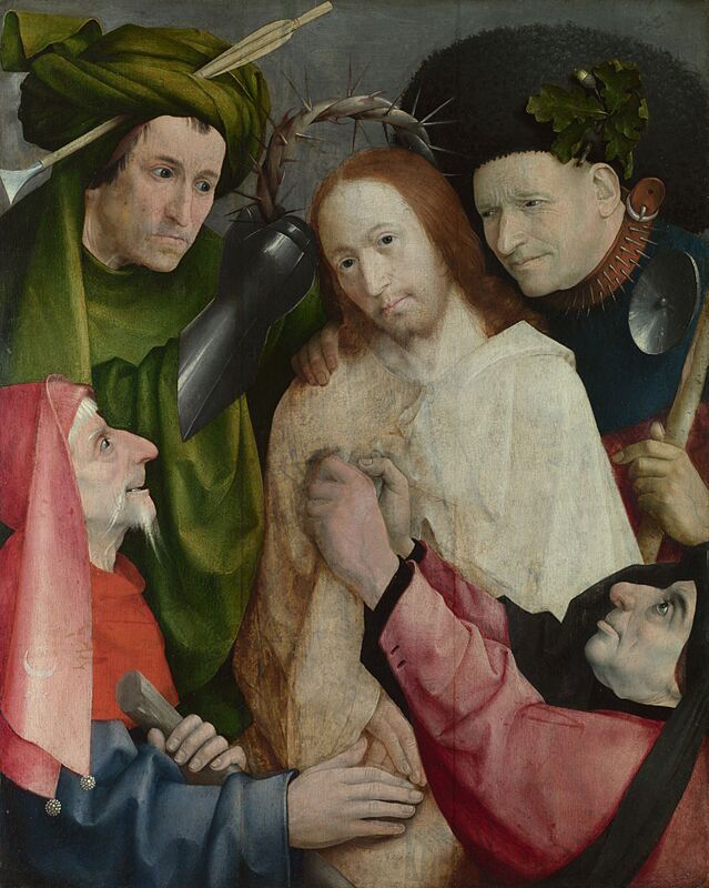 Hieronymus Bosch, Christ Mocked (The Crowning with Thorns), c. 1510 (National Ga
