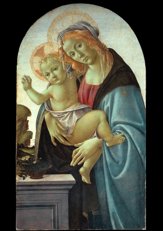 Sandro Botticelli, Madonna col Bambino, Collezione privata, Firenze (Coll. Luigi