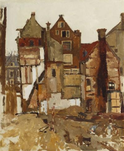 George Heidrik Breitner, Demolition in the Oudezijds Achterburgwal, 1903-1904 (c