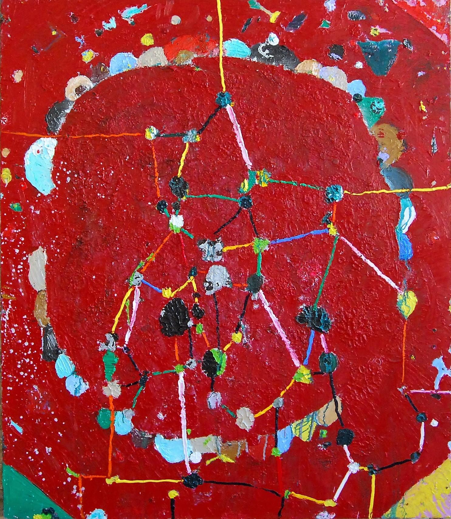 Valerie Brennan, Unagi, oil and spray paint on Masonite, 180 x 150 cm, 2015 (cou