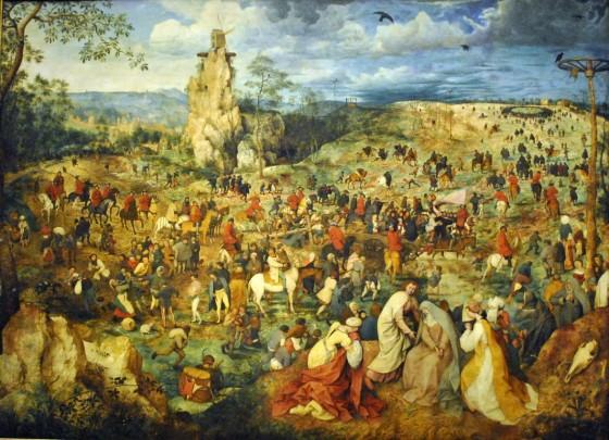 Pieter Bruegel the Elder, The Way to Calvary, Kunsthistorisches Museum Burgring,