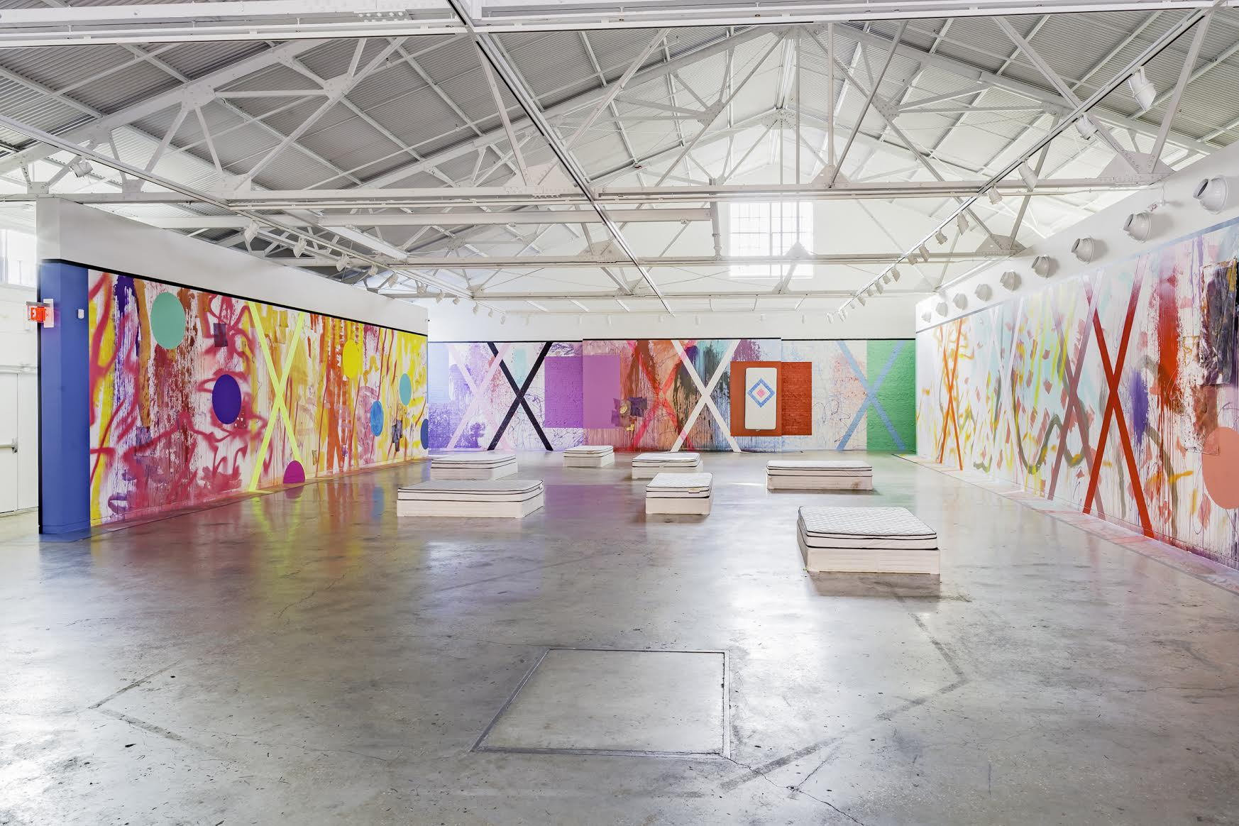 Sarah Cain, The Imaginary Architecture of Love at the Contemporary Art Museum (c