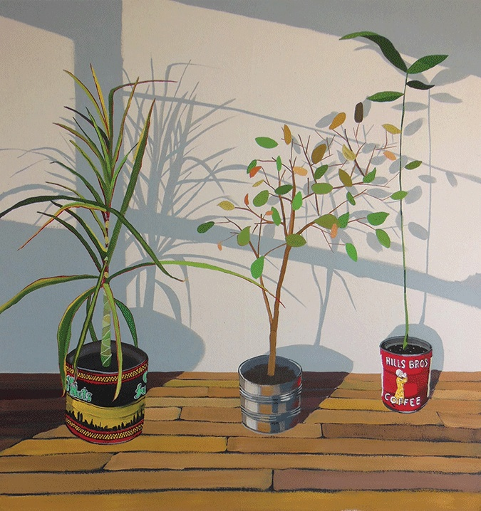 Timothy Callaghan, Still Life in Winter Sun, 43 x 41 inches, 2013 (courtesy of t