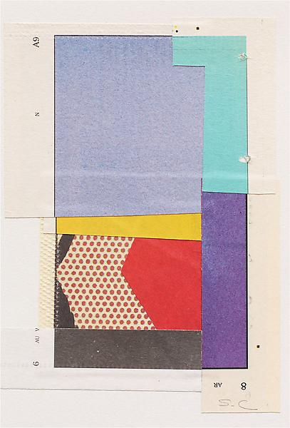 Suzanne Caporael, 017 (like the wisdom of Smith, 4), 2012-13, NYT newsprint coll