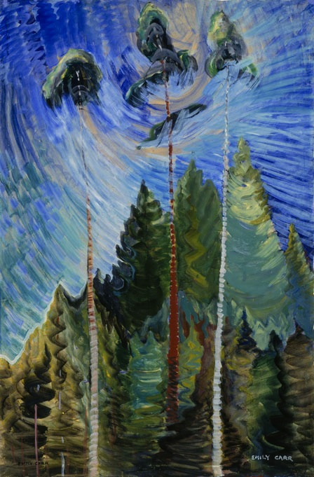 Emily Carr, Untitled 1938–9 (courtesy Vancouver Art Gallery / photo Trevor Mills