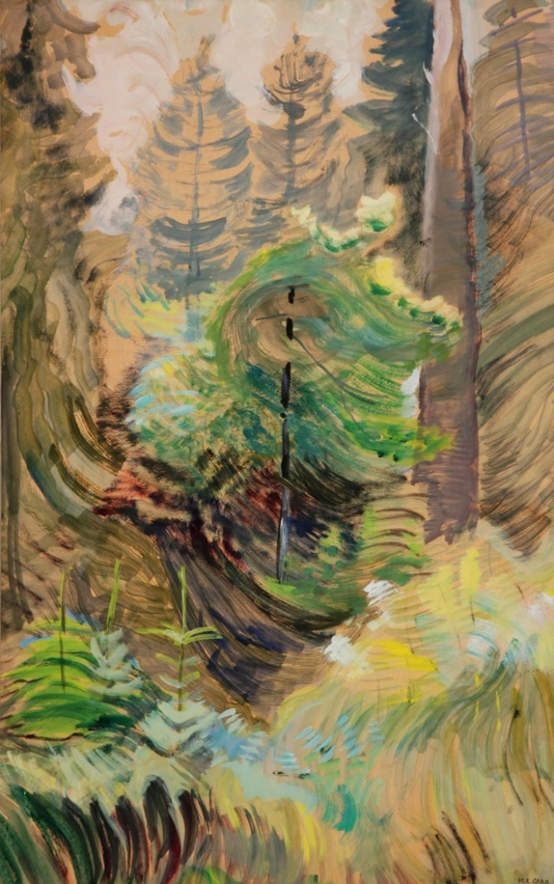 Emily Carr, Windswept Trees, c. 1937-38 (photograph: University of Victoria Art
