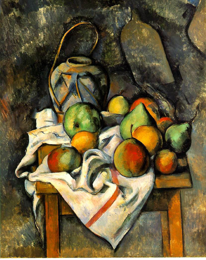 Paul Cézanne, Ginger Jar and Fruit, c. 1895 (The Barnes Foundation)