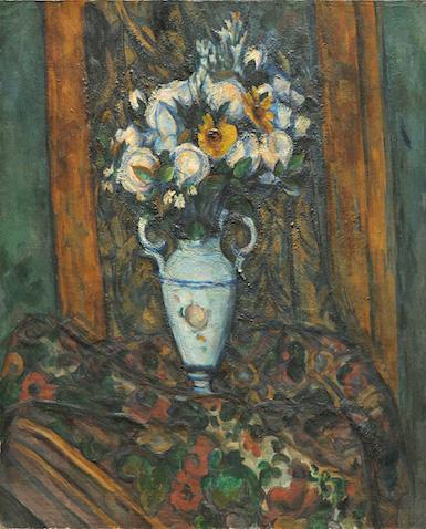 Paul Cézanne, Vase of Flowers, 1900/1903 (National Gallery of Art, Washington, D