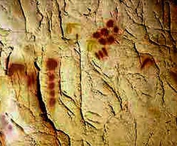 Chauvet Cave, Vallon-Pont-d'Arc, France (photo: Dr. Jean Clottes)