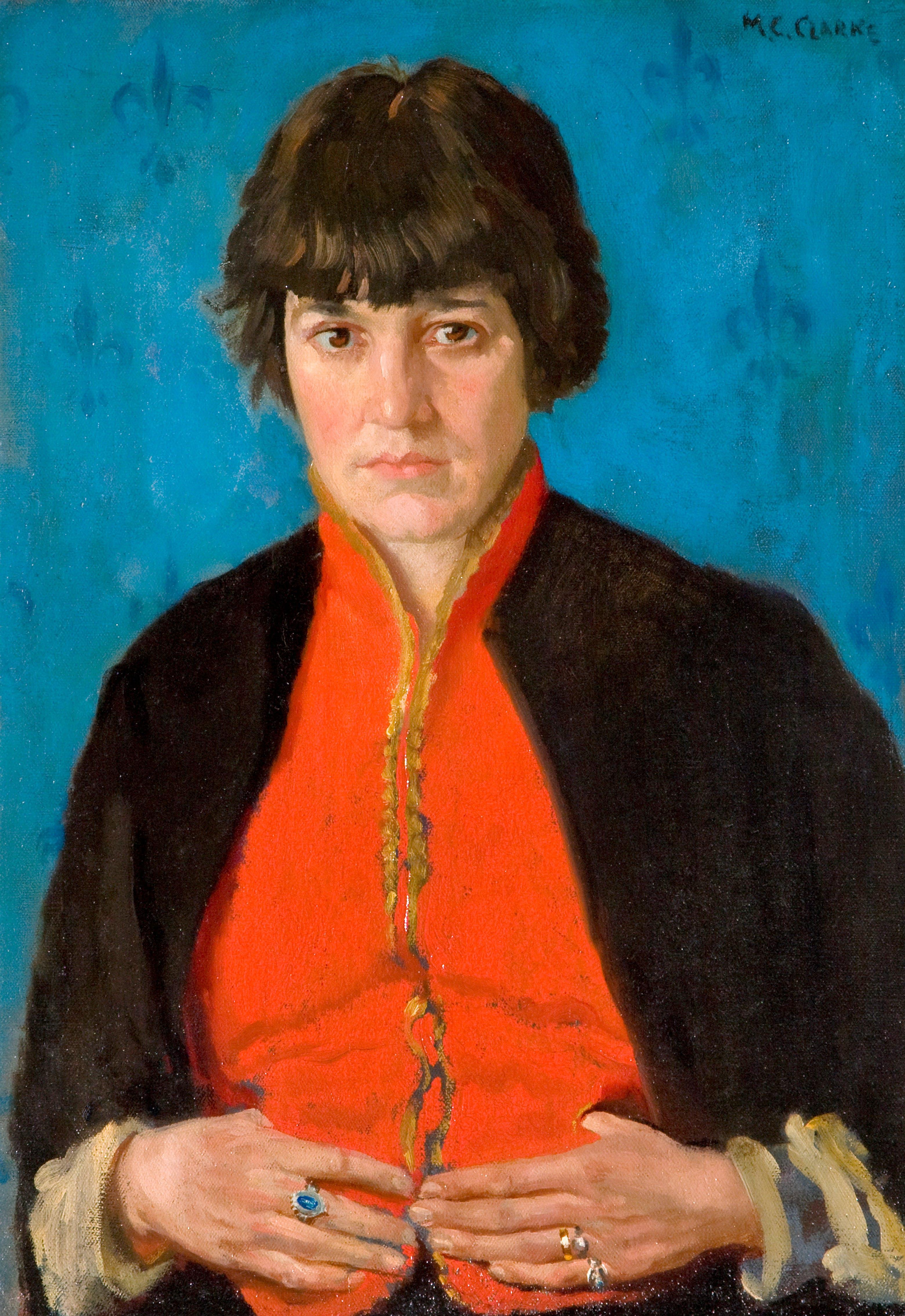 Margaret Clarke, Robin Redbreast, c. 1915(© The Estate of Margaret Clarke, Collection Ulster Museum)