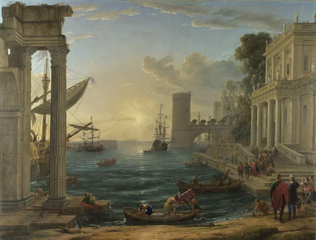 Claude, Seaport with the Embarkation of the Queen of Sheba, 1648, © The National