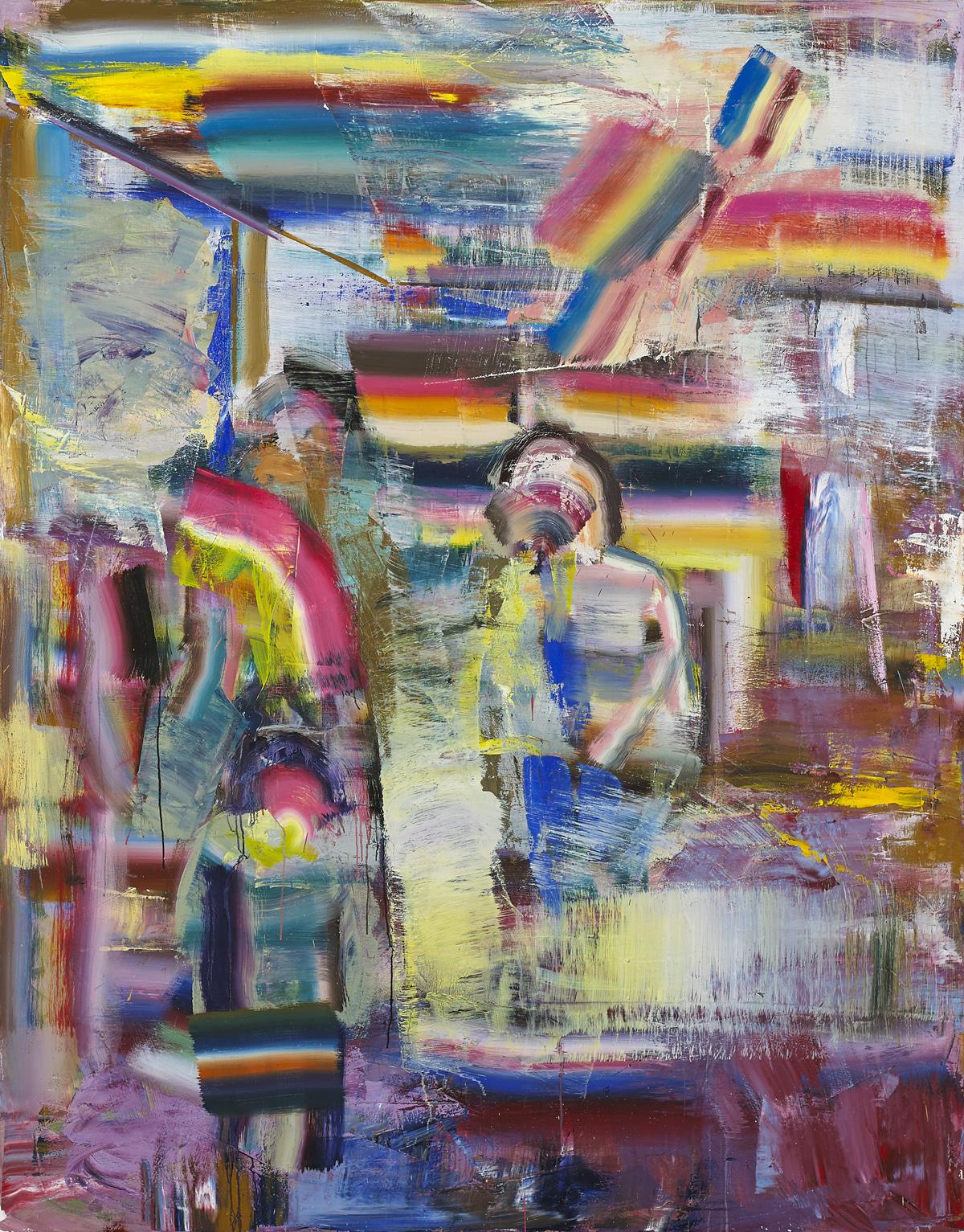 Diana Copperwhite, Weird Glamour, 2016, 230 x 180 cm (courtesy of 532 Gallery Thomas Jaeckel)