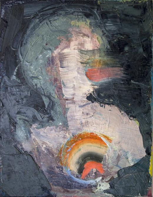Diana Copperwhite, Solitaire, oil on canvas, 35x45cm, 2013 (courtesy of the arti
